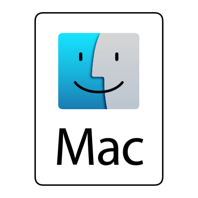 LUCI works on Mac OS logo.