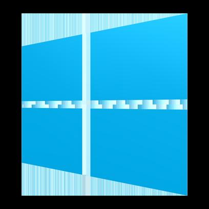 LUCI works on Windows logo.